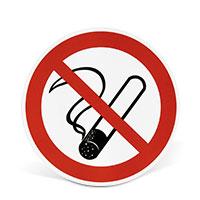 Bild Verbotsschild 'Rauchen verboten'