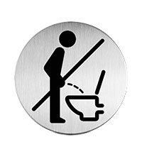 Bild Piktogramm 'Bitte Setzen'