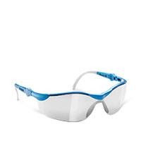 Bild Schutzbrille 'Profi', verspiegelt, blau