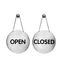 Bild Ladenschild 'Open/Close'