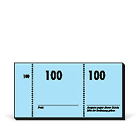 Bild Nummernblocks, 100 Blatt