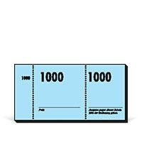 Bild Nummernblocks, 10x100Blatt