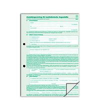 Bild Arbeitsvertrag, DIN A4, 2x 2 Blatt, 10 Stück