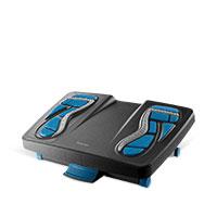 Bild Fußstütze, schwarz/blau