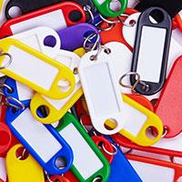 Bild Schlüsselanhänger, 100 Stück