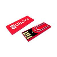Bild USB 2.0 Clip-Speicherstick, 4 GB, rot
