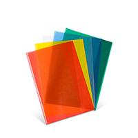 Bild Heftumschl�ge DIN A4, farbig, 5 St�ck
