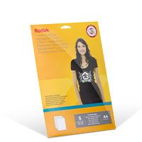 Bild Textil-Transferfolie 'dunkel', DIN A4, 5 Blatt