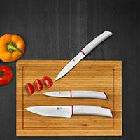 Bild Kochmesser antihaftbeschichtet, 3 St�ck