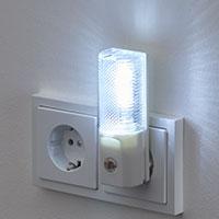 Bild LED-Nachlicht mit D�mmerungs-Sensor