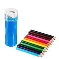 Bild Stifte-Box, 12 Stifte und Anspitzer inklusive
