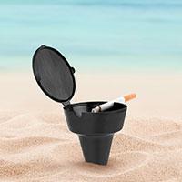 Bild Strand-Aschenbecher
