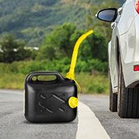 Bild Benzinkanister mit Einfüllstutzen, 5 Liter