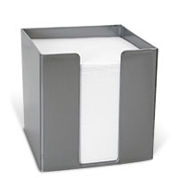 Bild Zettelbox, 95 x 95 x 95 mm, silber, 700 Blatt
