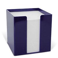 Bild Zettelbox, 95 x 95 x 95 mm, blau, 700 Blatt
