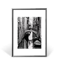 Bild Bilderrahmen, DIN A3, silber/schwarz