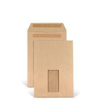 Bild Versandtasche, DIN C5, braun, 25 Stück
