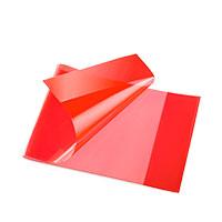 Bild Heftschoner, quer, DIN A5, rot