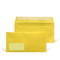 Bild Briefumschläge, gelb, 25 Stück