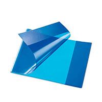 Bild Heftschoner, quer, DIN A5, blau