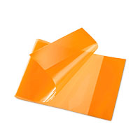 Bild Heftschoner, quer, DIN A5, orange