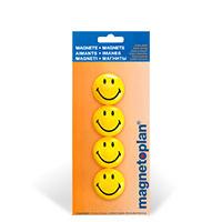 Bild Magnete Smiley, 4 Stück