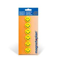 Bild Magnete Smiley, 6 Stück