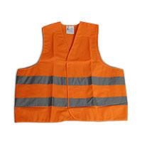 Bild Warnweste, Einheitsgröße, orange