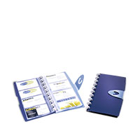 Bild Visitenkartenringbuch, 255 x 137 x 19 mm
