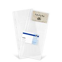 Bild Visitenkartenhüllen, transparent, 10 Stück