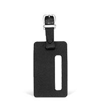 Bild Kofferanhänger, 115 x 70 mm, schwarz