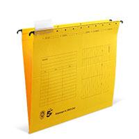 Bild Hängemappe, DIN A4, gelb, 5 Stück