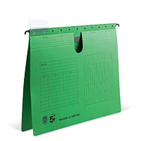 Bild Hängehefter, DIN A4, grün, 5 Stück