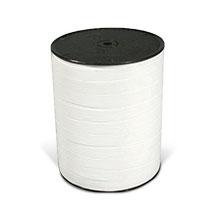 Bild Geschenkband, 10 mm, weiß