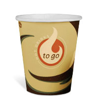 Bild Hartpapierbecher 'To-Go', 50 Stück
