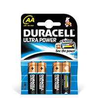 Bild Batterien 'Mignon AA', 1,5V, 4 Stück