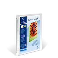 Bild Präsentationsringbuch, transparent/weiß
