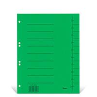Bild Trennblätter, grün