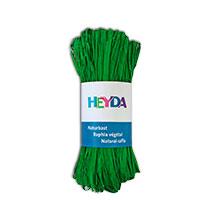 Bild Naturbast 'apfelgrün' 50 g