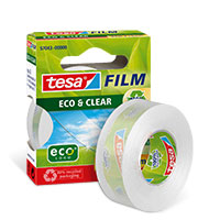 Bild Klebeband 'Eco&Clear', 19 mm, 33 m
