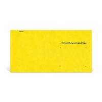 Bild Umschlag 'Zusendung an Postamt'