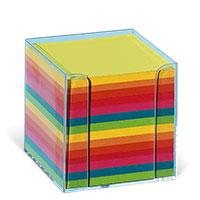 Bild Zettelbox, 95 x 95 x 95 mm, klar, 700 Blatt