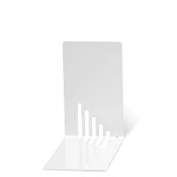 Bild Buchstützen, weiß, 2 Stück