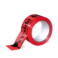 Bild Signalklebeband 'Vorsicht Glas', rot