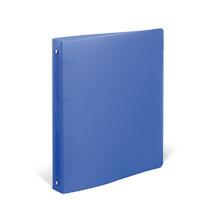 Bild Präsentationsringbuch, transparent/blau
