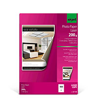 Bild Fotopapier, DIN A4, 2x glänzend, 100 Blatt