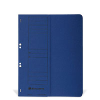 Bild Ösenhefter, halber Deckel, blau