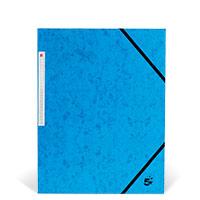 Bild Eckspannmappe, DIN A4, blau