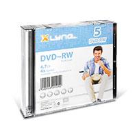 Bild DVD-RW Rohlinge, 4.7 GB, 5 Stück