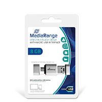 Bild USB 2.0/MicroUSB Speicherstick, 8 GB